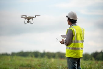 Drones Changing the Game for Topographic Surveying